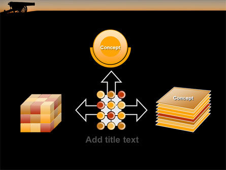 Alamo Sunset PowerPoint Template Slide 19