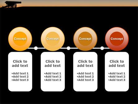 Alamo Sunset PowerPoint Template Slide 5