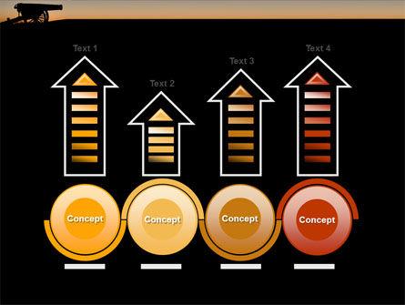 Alamo Sunset PowerPoint Template Slide 7