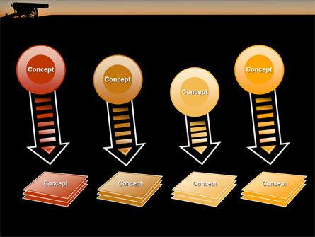 Alamo Sunset PowerPoint Template Slide 8