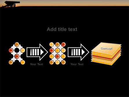 Alamo Sunset PowerPoint Template Slide 9