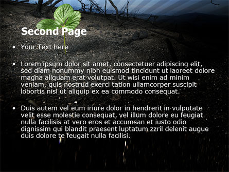 Sprig PowerPoint Template, Slide 2, 06271, Nature & Environment — PoweredTemplate.com