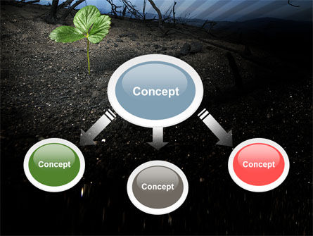 Sprig PowerPoint Template, Slide 4, 06271, Nature & Environment — PoweredTemplate.com