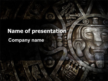 Pre-Columbian Art PowerPoint Template, 06272, Art & Entertainment — PoweredTemplate.com