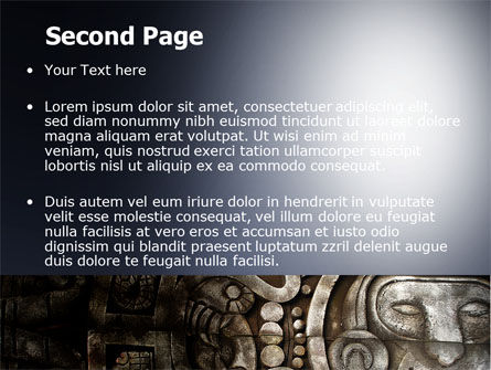 Pre-Columbian Art PowerPoint Template, Slide 2, 06272, Art & Entertainment — PoweredTemplate.com