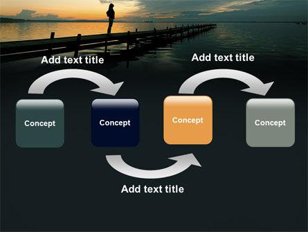 Sunset On The Sea PowerPoint Template, Slide 4, 06274, Religious/Spiritual — PoweredTemplate.com