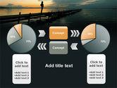 Sunset On The Sea PowerPoint Template#11