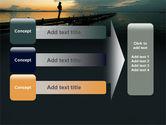 Sunset On The Sea PowerPoint Template#12