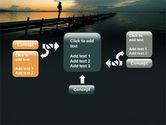 Sunset On The Sea PowerPoint Template#13
