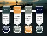 Sunset On The Sea PowerPoint Template#18