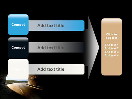 Automobile Tunnel PowerPoint Template Slide 12