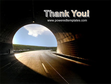 Automobile Tunnel PowerPoint Template Slide 20
