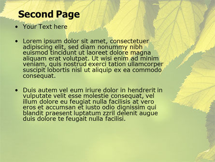 Early Fall Free PowerPoint Template, Slide 2, 06276, Nature & Environment — PoweredTemplate.com