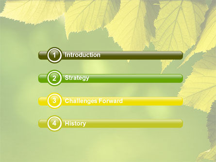 Early Fall Free PowerPoint Template, Slide 3, 06276, Nature & Environment — PoweredTemplate.com