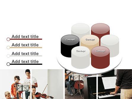 Musical School PowerPoint Template Slide 12