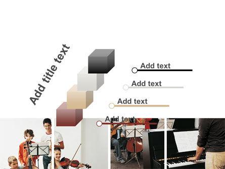 Musical School PowerPoint Template Slide 14