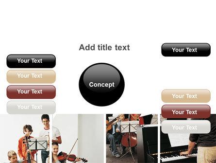 Musical School PowerPoint Template Slide 15
