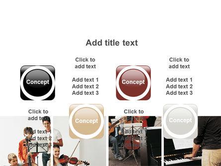 Musical School PowerPoint Template Slide 18