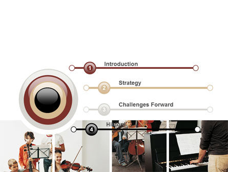 Musical School PowerPoint Template, Slide 3, 06279, Careers/Industry — PoweredTemplate.com