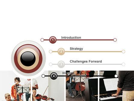 Musical School PowerPoint Template Slide 3