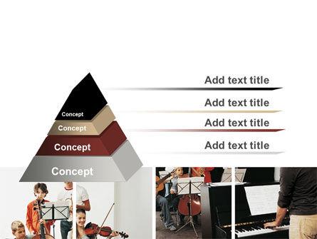 Musical School PowerPoint Template Slide 4