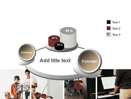 Musical School PowerPoint Template Slide 6