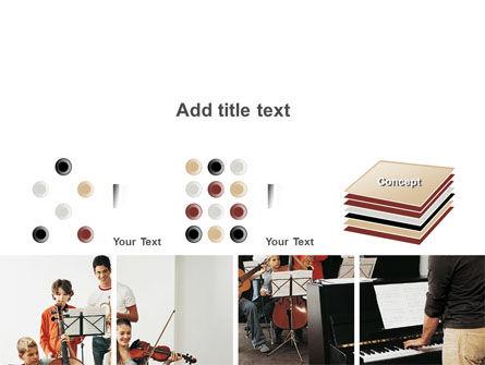 Musical School PowerPoint Template Slide 9