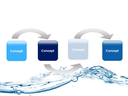 Water Splash PowerPoint Template, Slide 4, 06280, Nature & Environment — PoweredTemplate.com