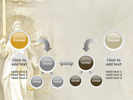 Lady Justice PowerPoint Template Slide 19