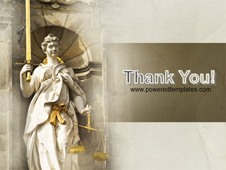 Lady Justice PowerPoint Template Slide 20