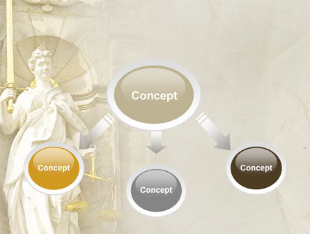 Lady Justice PowerPoint Template Slide 4