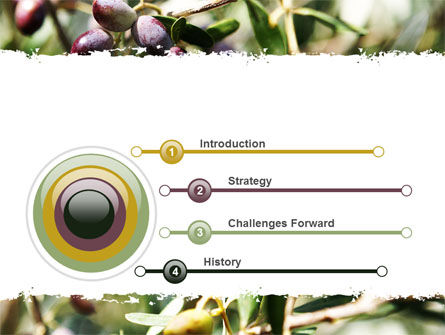 Olive PowerPoint Template, Slide 3, 06286, Agriculture — PoweredTemplate.com