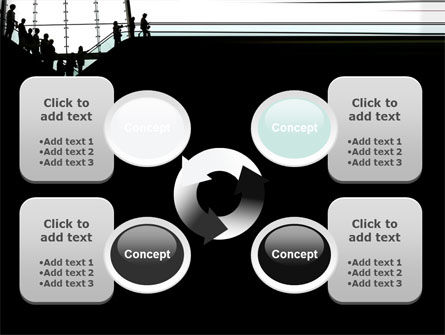 Escalators PowerPoint Template Slide 9