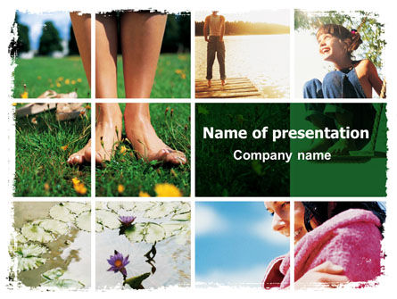 Nature & Environment: Weekend Fun PowerPoint Template #06289