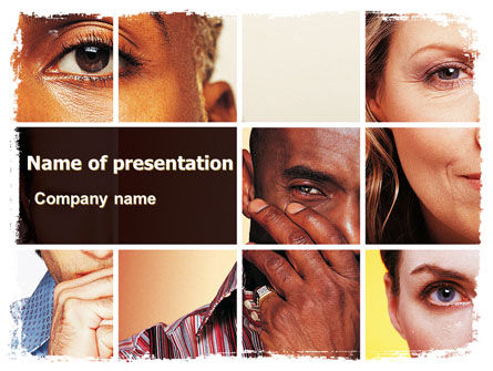 People: Human Emotions PowerPoint Template #06290