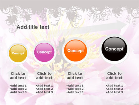 Blooming Flower PowerPoint Template Slide 13