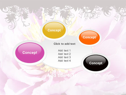 Blooming Flower PowerPoint Template Slide 16