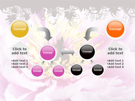 Blooming Flower PowerPoint Template Slide 19