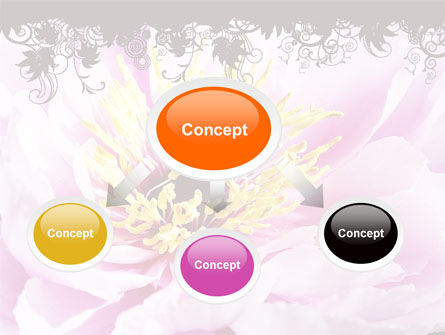 Blooming Flower PowerPoint Template, Slide 4, 06291, Holiday/Special Occasion — PoweredTemplate.com