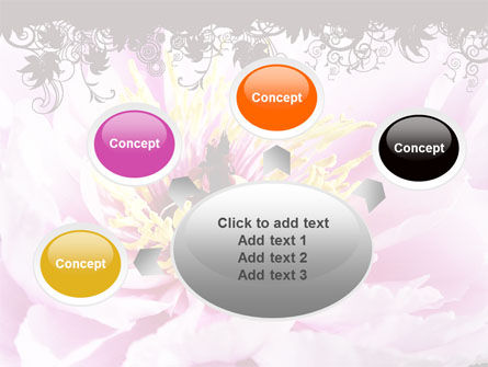 Blooming Flower PowerPoint Template Slide 7