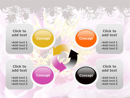 Blooming Flower PowerPoint Template Slide 9