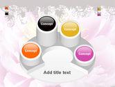 Blooming Flower PowerPoint Template#12