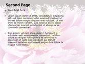 Blooming Flower PowerPoint Template#2