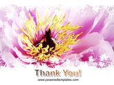 Blooming Flower PowerPoint Template#20