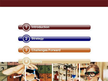 Chemistry Lesson PowerPoint Template, Slide 3, 06292, Education & Training — PoweredTemplate.com