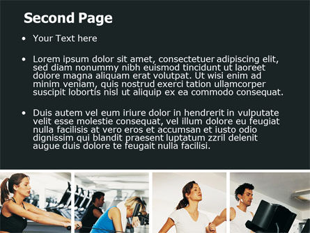 Sport Gym PowerPoint Template, Slide 2, 06294, Sports — PoweredTemplate.com