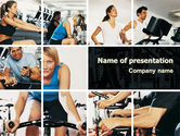 Sports: Sport Gym PowerPoint Template #06294