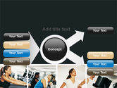Sport Gym PowerPoint Template#14