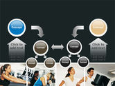 Sport Gym PowerPoint Template#19