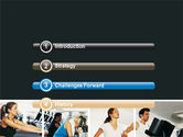 Sport Gym PowerPoint Template#3